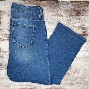 NYDJ Stretch Jeans Straight Leg Sz 8